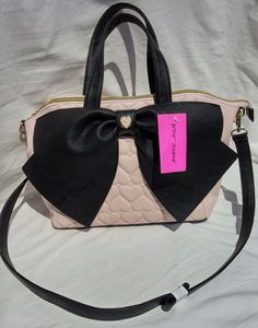 917b9f321060 NWT Betsey Johnson Satchel Tote Blush Pink