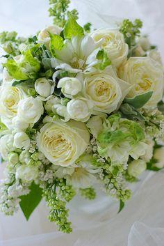 BLANC ET NOIR Floral Deco