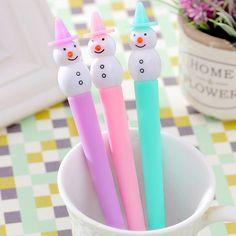 Snowman Gel Pen ♥