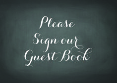 Sign for Guest Book