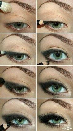 Pretty eye make up. Need to try bolder stuff with my eye make up Beauty Make-up, Beauty Hacks, Beauty Tips, Beauty Products, Beauty Secrets, Hair Beauty, Asian Beauty, Vogue Beauty, Beauty Style