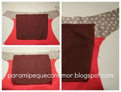 Para mi peque con amor: Riñonera con bolsillo de fuelle. Tutorial Upcycled Clothing, Clothes, Hip Bag, Outfits, Amor, Sew, Craft, Satchel Handbags, Purses