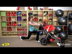Alternating Stroller Lunge – Stroller Strides | BOB Gear Fitness Center for Runners with Jogging Strollers