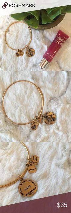 """NWOT Alex & Ani Gold """"Alder"""" Bangle This charm signifies protection and is the perfect addition to any Alex & Ani collection. BRAND NEW, NEVER WORN with no flaws or signs of wear. 🌺  ✨If you have questions, please review my closet policies or feel free to ask!  ✨Reasonable offers welcome!  ✨15% off bundles of 2 or more!  ✨Look for items in my closet with a 🌴 for high end designers at great prices! Alex & Ani Jewelry Bracelets"""