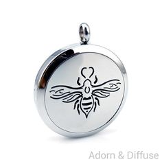 Queen Bee Diffuser Locket Necklace
