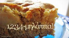 easy apple pie by Madame Pelagie in greek