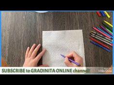 Decorated napkins - YouTube Home Activities, Online Work, Homeschool, Napkins, Card Holder, Children, Youtube, Decor, Dekoration