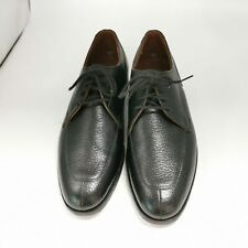 Vintage Dacks Shoes Size 8.5 D Black Leather Lace Up Finest Quality #mensfashion $125.00
