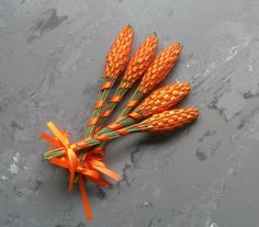 Advance Orders of Lavender Wands  Orange Small by Pedricks on Etsy