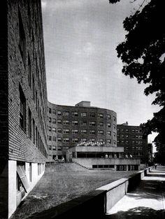 MIT Dormitorio Senior, Cambridge (Mass, USA) Proyecto y Construcción 1947-1948. Alvar Aalto.