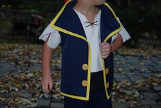 Jake and the neverland pirates costume tutorial.