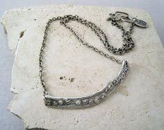 N35 pierced bar necklace — KathyVanKleeck