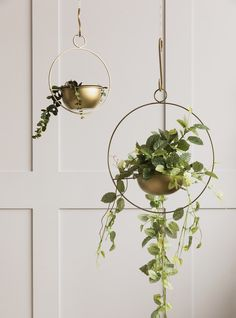 Brass Hanging Planter at Rose & Grey. Buy online now from Rose & Grey, eclectic home accessories and stylish furniture for vintage and modern living Home Office Accessories, Vintage Home Accessories, House Plants Decor, Plant Decor, Faux Plants, Indoor Plants, Indoor Herbs, Indoor Gardening, Hanging Planters
