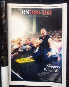 Proud moment for any photographer. #RollingStoneMagazine @Jolopezphoto #Springsteen #ManBehindTheMan exhibition.