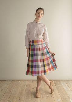 Billedresultat for Toast Tippi Multi Check Shirt Dress, Windowpane Check