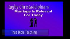 Marriage 'IS' Relevant For Today