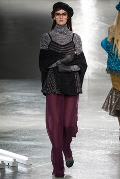 Rodarte Fall 2014 Ready-to-Wear Fashion Show - Sam Rollinson