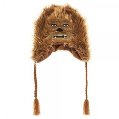 Get ready to take flight on the Millennium Falcon with Han Solo by your side in this furry hat featuring everyone's favorite Wookie, Chewbacca! Check out our FAQ page for common inquiries.