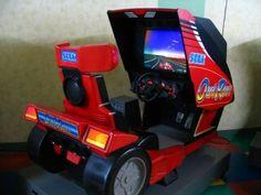 out run, sega arcade game Borne Arcade, Construction, Arcade Games, Building