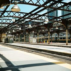 Empty train station by mdahlke0