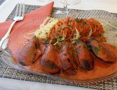 Diana's Cook Blog: Resto à Sète (2ème partie). Bouillabaisse à la sétoise, moules farcies, etc.