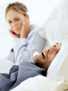 "Does your spouse snoring keep you awake at night?  Here are a few solutions to ""Snore No More""."
