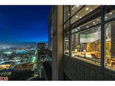 Penthouse at Californian condos in LA http://www.highrises.com/los-angeles/the-californian-condos/