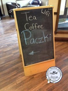 Pczki Chalkboard Signs, Art Quotes, Creative