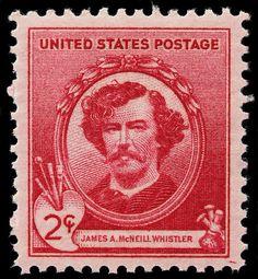 James Mcneill Whistler Postage Stamp Photograph  - James Mcneill Whistler Postage Stamp Fine Art Print