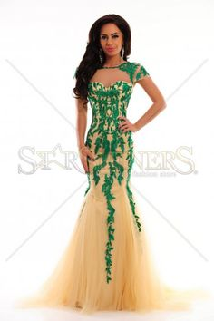 Sherri Hill 1927 Green Dress