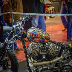 Custombike Show Bad Salzuflen Germany #nlc #custombike #harley #harleysite #harleydavidson #badsalzuflen #cbs #bikeshow #showbike #airbrush  #custom #bobber