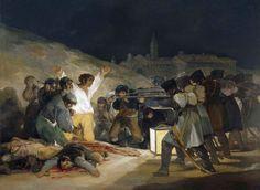 Il 3 maggio 1808; Francisco Goya; olio su tela; 1814; Museo del Prado, Madrid, Spagna.