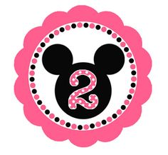 Mini Mouse Birthday Invitations - could make this on the cricut without having to buy any expensive cartridges