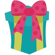 Birthday Present SVG files birthday svg files birthday svg cuts cute svgs free svg files for scrapbooking