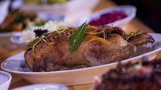 Foto: NRK Ciabatta, Nigella, Biscotti, Pork, Turkey, Meat, Christmas, Pork Roulade, Yule