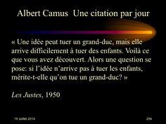 Albert Camus (1913-1960) n° 254