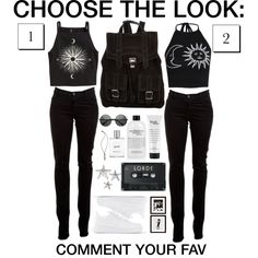 Choose the look #27 by grapefashion on Polyvore featuring polyvore, moda, style, H&M, Boohoo, J Brand, NIKE, Proenza Schouler, Vanessa Mooney, philosophy and Eichholtz