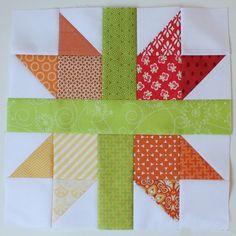 New England Cross Star Block