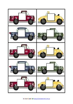 Times Something Games 2-12 Times Table Game PDF file15 page, printable file.This game is suitable for any child learning their times tables...