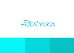 Logotipo hola yoga Company Logo, Yoga, Logos, Yoga Tips, Yoga Sayings