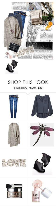 """""""casual monday"""" by vessela ❤ liked on Polyvore featuring H&M, Alexis Bittar, Tiffany & Co., Jeffrey Campbell, Clinique, Benefit and Reed Krakoff"""