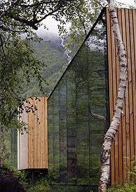 Juvet Landscape Hotel beside the Gudbrandsjuvet Gorge, Norway - Photo: Jan Olav Jensen
