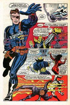 Nick Fury Agent of S.H.I.E.L.D. by Jim Steranko