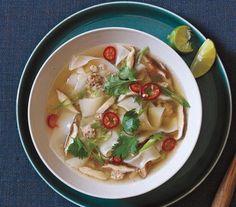 Thai Pork and Noodle Soup recipe