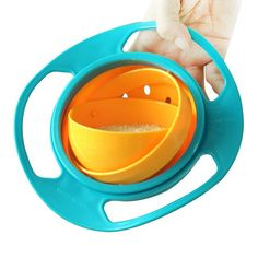 2015 New Children s Toy Tumbler Bowl Saucer Gyro Baby Rice Bowl Gift Hot Sale. Click visit to buy #dinnerware
