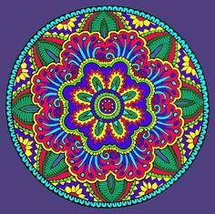 Mystical Mandala Coloring Book, Dover Publications