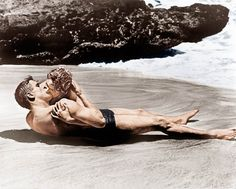 Most memorable kisses of all time - Burt Lancaster and Deborah Kerr share one of…