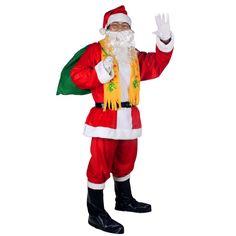 Santa Weihnachten Kleidung Qualität Weihnachtsgeschenk Partei Kleidung Herrenbekleidung boxed Schuhe Hut Tasche Kostenloser Versand //Price: $US $44.10 & FREE Shipping //     #dazzup