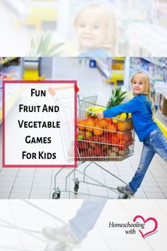 If you want to teach your kiddos healthy attitudes toward nutrition, check out these fun fruit and vegetable games! Hands On Activities, Science Activities, Homeschool Curriculum, Homeschooling, Best Fruits, Educational Games, Home Based Business, Kids Nutrition, Kids Education