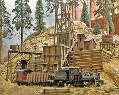 Poverty Gulch and Opulence Railroad by Doug Ramos.